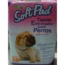 Tapete Entrenador 7pzs Para Baño Softpad Cachorro Fancy Pets