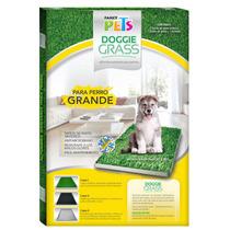 Tapete Entrenador Pasto Sintetico Doggie Grass 76x50 Grande