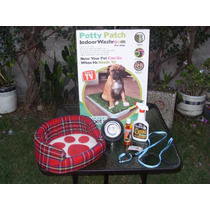 Tapete Entrenador Para Perro Potty Patch Con Accesorios