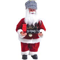 Nuevo Decorativo Papá Noel Y Tren Ornamento De Navidad