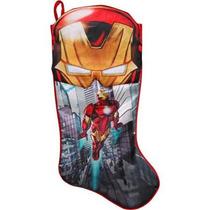 Bota Navideña Ironman Marvel Avengers Nueva De Importación.