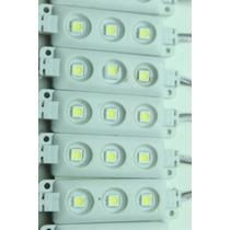 10 Modulo De 3 Led´s 5050 Luz Blanca Extra Brillante