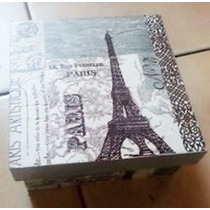 Cajas Decoracion Con Servilleta Decoupage