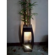 Lampara Decorativa Con Bambú Regalo De Navidad