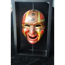 Mascara De Madera Solida Hechas A Mano Preciosas