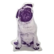 Almohada En Forma De Perro Pug Original Cojín Nuevo