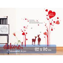 Venados Enamorados Sticker Decorativo... Dekore!