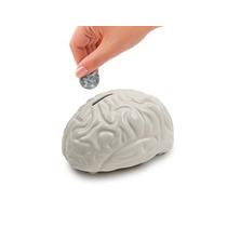 Alcancía En Forma De Cerebro De Ceramica Nueva