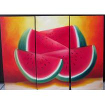 Cuadros Al Oleo Abstractos Minimalistas Y Modernos Tripticos