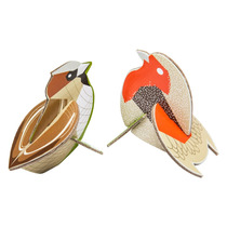 Gorriones Armables 3d Decorativo Diseño Design Nuevo Estilo