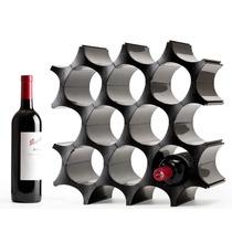 Porta Vinos Cava De Célula Se Puede Ampliar Blanco Ó Negro