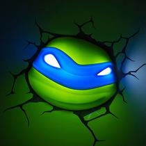 Leonardo Lampara Para Pared Tortugas Ninja 3d Nickelodeon
