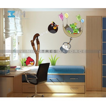 Angry Birds-i 01, Vinilo Decorativo, Calcomanía De Pared