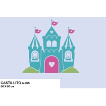 Stiker Vinil Decorativo Infantil P/cuarto De La Princesa