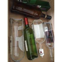 Botellas Cortadas Vacíasvacias