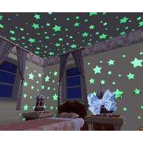 Estrellas Pegatinas Decoracion Fluoresentes