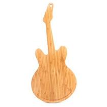 Tabla Para Cortar En Forma De Guitarra De Madera Kikkerland