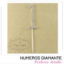 Numeros Diamante 1 Año Gd Para Decoracion Pastel Aniversario