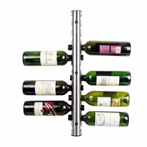 Rack Porta Vinos - Acero Inoxidable - 12 Botellas