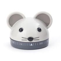 Cronometro De Cocina De Rato Ó Gato Diseño Decora Kikkerland