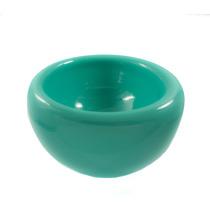 Base Doble P/arreglo Floral De Vidrio Soplado 15 Cms - Opal
