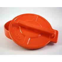 Tortillero De Ceramica Naranja Diseño Prensa Tortilla O-lab