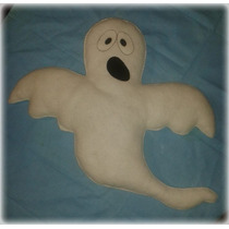 Adorno De Fieltro Halloween Fantasma