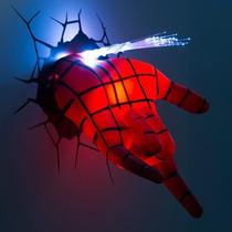 Lampara Para Pared Spider Man Mano Marvel Disney