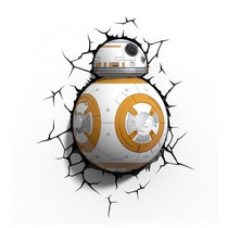 Star Wars Bb-8 Droid Lampara Preventa The Force Awakenes Led