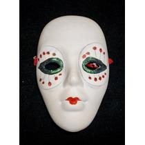 Máscara De Cerámica Estilo Veneciano. Colección
