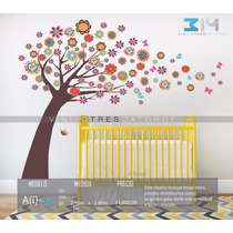Vinilo Decorativo Árbol Infantil-i 33. Calcomanía Para Bebé.