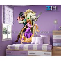 Enredados 3, Vinilo Decorativo Princesa Rapunzel Calcomanía