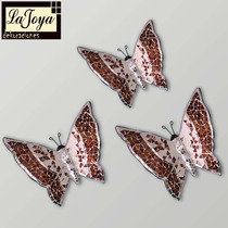 Mariposas Decorativas Jgo. 3 Pzs