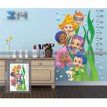 Vinilo Decorativo Bubble Guppies 02. Calcomanía De Pared