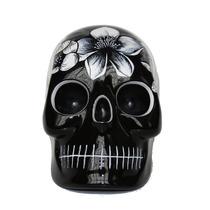 Alcancía En Forma De Día De Muertos Negro Skull