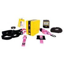Sistema De Suspension Trx Rosa Crossfit, Gym, Fitness