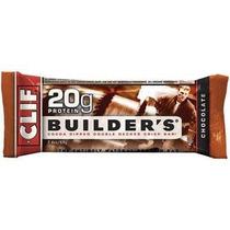 Barras De Proteína De Chocolate 12 Ct De Clif Bar Constructo