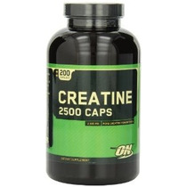 Optimum Nutrition Creatina 2500mg 200 Cápsulas