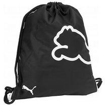 Bolsa Mochila Puma Carry Sack Negra Celeste