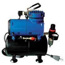 Compresor Para Aerografo Paasche D3000r 1/8 Hp Mn4