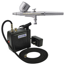 Sistema Aerografia Master Aerografo Compresor Master Kit