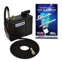 Mini Compresor Master Para Aerografo Portatil