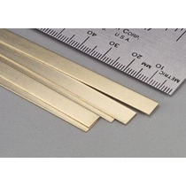 Lamina De Laton K&s Brass Strip .032x1/2 #8241