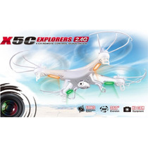 Cuadricoptero Syma X5c Explorer , Con Camara 4ch 6 Axis