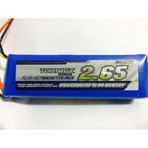 Bateria Lipo 2650mah 11.1v 3s 1c Turnigy Radio Transmisor Tx