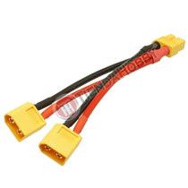 Cable 1 A 2 Xt60 Conector Paralelo Para Batería Dji Phantom