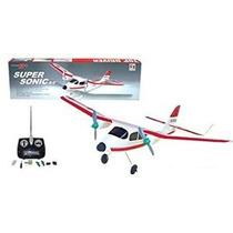 Super Sonic Rc Avión Modelo R / C 9399 Formación Avión Arf R