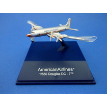 American Airlines Boeing 1/550 Douglas Dc - 7 Sky Pilot