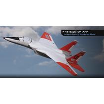 Avión, Jet, F-15, Eflite, Arf, Incluye Fan (2) Y Retráctiles