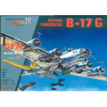 B-17 Flying Fortres Wwii Escala 1/33 Armable Escala